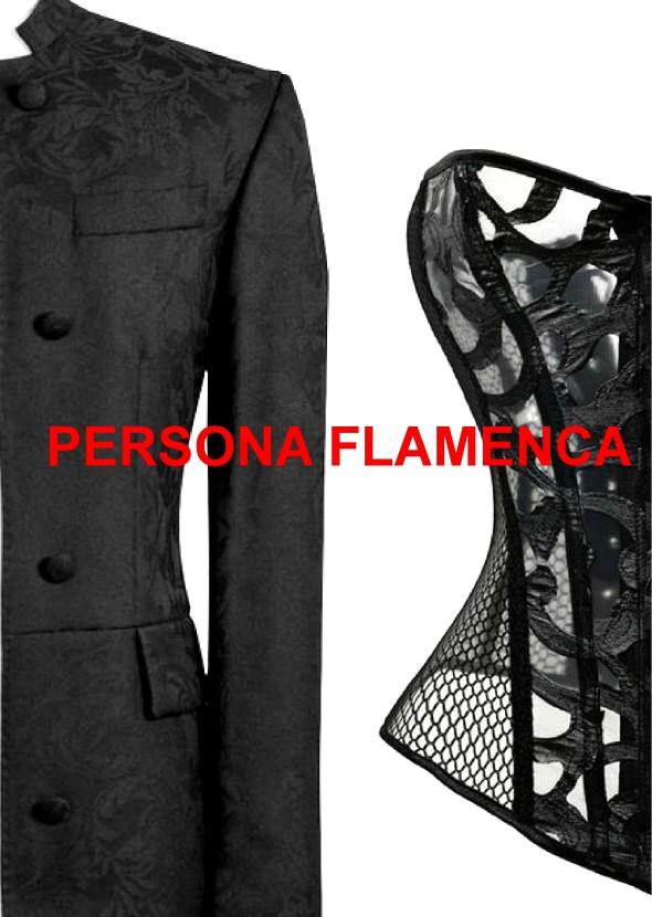 Persona Flamenca A5 Postkarte website